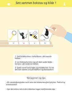 Bokstaver og språkleker i samme materiell! Alfabet første lyd kan brukes på en rekke ulike måter for å øve på bokstaver og språk.   Språkleker, norsk, 1.trinn, bildekort, undervisning, lese, læremateriell, bokstaver, alfabet Product Page, Shopping, Pictures