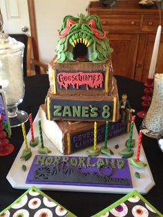 Goosebumps HorrorLand Revenge of the Living Dummy Birthday Cake