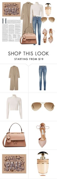 """Untitled #32"" by deslightwood ❤ liked on Polyvore featuring The Row, dVb Victoria Beckham, A.L.C., Ray-Ban, Victoria Beckham, Steve Madden and Prada"