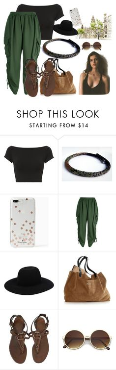 """""""Saturday!"""" by colchico ❤ liked on Polyvore featuring Helmut Lang, Kate Spade, Boohoo, Off-White, Mark & Graham, Gucci and AB A Brand Apart"""