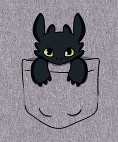 "Pocket dragon, toothless. :"")"