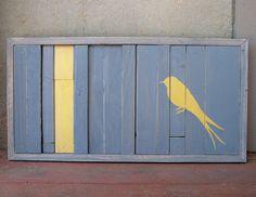 MADE TO ORDER Reclaimed Wood  Bird Series  by RusticWoodOriginals, $175.00