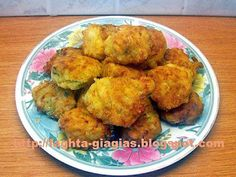 Everyday Food, Greek Recipes, Fritters, Cauliflower, Food And Drink, Vegan, Chicken, Vegetables, Ethnic Recipes