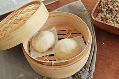 Chinese Steamed Pork Buns #recipe