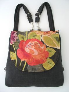 Hey, I found this really awesome Etsy listing at https://www.etsy.com/au/listing/208732044/crossbody-bag-grey-backpack-messenger