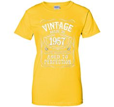Vintage Made In 1957 Birthday Gift Idea T Shirt