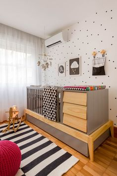 New Baby Room Decoration Ideas Baby Bedroom, Baby Boy Rooms, Baby Room Decor, Nursery Room, Kids Bedroom, Bedroom Decor, Toddler And Baby Room, Indian Home Interior, Baby Room Design
