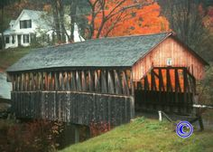 Believed to be the oldest of the County's covered bridges, this bridge was renovated and opened to traffic in the Fall of 2003. Description from pinterest.com. I searched for this on bing.com/images