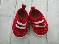Matalan Red Baby Shoes