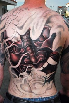 Japanese Mask Tattoo - Japanese Mask Tattoos hannya mask tattoo by ~bjsxiii on deviantART These are only a few ideas of popular Japanese. Japanese Hannya Mask, Japanese Mask Tattoo, Tatuajes Irezumi, Irezumi Tattoos, Hannya Mask Tatuaje, Beautiful Tattoos, Cool Tattoos, Tatoos, Hannya Mask Tattoo