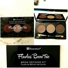 One of the best brow powders out there! Beauty Tips, Beauty Hacks, Hair Beauty, Brow Powder, Perfect Brows, Makeup Eyes, Bh Cosmetics, Kit, Makeup Shop