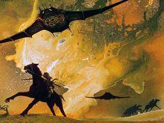 Roger Dean  Fantasy Wallpaper: Roger Dean - Art
