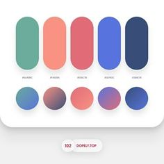7315 likes, 45 comments - Color Palette Roundup 3 By - Dopely Colors 15 Flat Color Palette, Pantone Colour Palettes, Colour Pallette, Pantone Color, Colour Schemes, Color Patterns, Cores Rgb, Palette Pastel, Ui Color