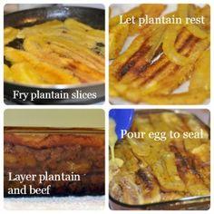 How to Make a Pastelón, Recipe Steps