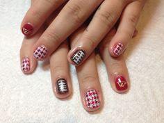 Hokie Nails by Kimberly Grove