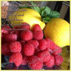 Raspberry Mint Lemonade