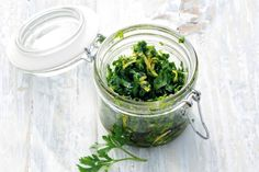 Mengsel van citroenrasp, knoflook en peterselie dat veel gebruikt wordt in de Italiaanse keuken - Recept - Allerhande