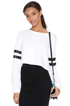 Time Out Sweatshirt - White
