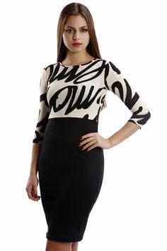 Letter Print Fleece Dress Dress P, New Dress, Night Out, Letter, Blouse, Long Sleeve, Sleeves, Women, Fashion
