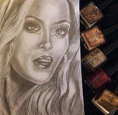 Drawer Beyonce Love Pop Art