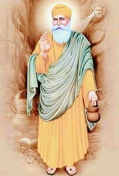 Founder of Sikhism Guru Nanak Pics, Guru Nanak Photo, All God Images, Deep Images, Guru Granth Sahib Quotes, Shri Guru Granth Sahib, Baba Deep Singh Ji, Guru Nanak Wallpaper, Guru Nanak Jayanti