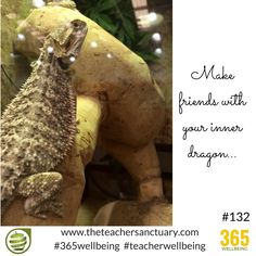 #132/365 #365wellbeing   Make friends with your inner dragon...  #TopTips #TakeTheOxygenFirst #TeacherWellbeing #TheTeacherSanctuary #EveryTeacherMatters #KathrynLovewell #KindMind #Dragons #InnerDragon
