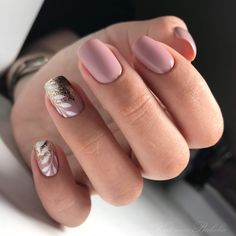 sensational winter nail colors to make you feel warm latest fashion trends for women 76 Gelish Nails, Nude Nails, Nail Manicure, Pink Nails, My Nails, Classy Nails, Simple Nails, Trendy Nails, Cute Acrylic Nails
