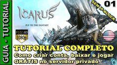 Como criar conta, instalar e jogar o PROJECT ICARUS ONLINE traduzido e G... Icarus Online, Project, Fantasy, Youtube, Games, Fantasy Books, Fantasia, Youtubers, Youtube Movies