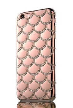 Mermaid Scale iPhone 6 Case in Pink