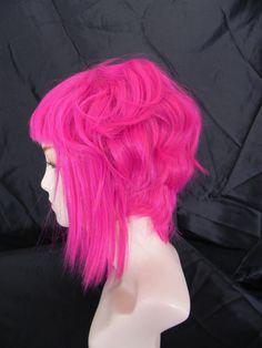 20% OFF SALE Ramona Flowers Inspired / Neon Puple Pink / Short  A Line Wig Scott Pilgrim vs The World. $70.40, via Etsy.