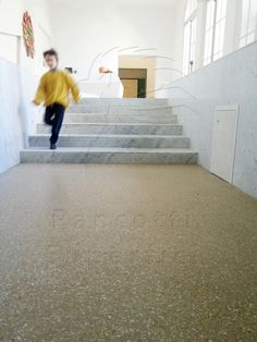 Calcemoderna: pavimento in #cocciopesto in un solo centimetro di spessore.