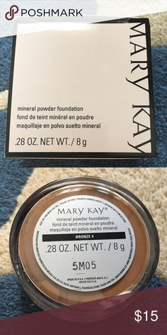 MK mineral powder foundation-bronze 4 Mary Kay mineral powder foundation in bronze 4. Mary Kay Makeup Face Powder