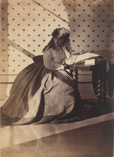 Photographic study by Clementina Hawarden.