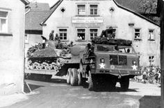 This site is dedicated to the men that served our country in Tank Destroyers. It is my hope that this site may bring together the families of these men to celebrate their accomplishments during WWII and in life. Dragon Wagon, Old Lorries, Ww2 Pictures, Sherman Tank, Tank Destroyer, Military Modelling, World Of Tanks, Transporter, Military Equipment