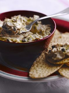 Make your own flavoured butter with this recipe for tuna and caper butter from Jamie Oliver, it is delicious spread on Italian flatbread or crispbread.