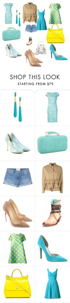"""""""#bright#love#coulers#trend#moda#"""" by hannazakaria ❤ liked on Polyvore featuring Dean Davidson, Lela Rose, Nicholas Kirkwood, Vince Camuto, Sandrine Rose, Erika Cavallini Semi-Couture, Christian Louboutin, Ultràchic, Jessica Simpson and Dolce&Gabbana"""