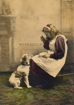 vintage everyday: Old Photographs of Dogs and Their Owners in London