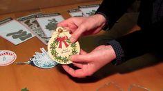 Vorführung Die-Namics Decorative Circle Tag STAX Weihnachten