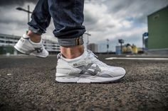 Asics Gel Lyte V: White/Grey