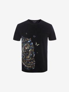 Alexander McQueen Moth Skull T-Shirt | ALEXANDER MCQUEEN saved by #ShoppingIS