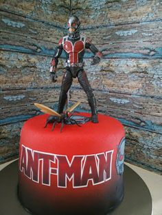 Ant Man Cake Design : Ant - Man Party favors Pinterest Beautiful, Ants and ...