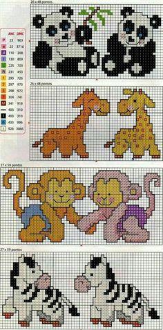 Baby Cross Stitch Patterns, Cross Stitch For Kids, Cross Stitch Baby, Cross Stitch Animals, Cross Stitch Charts, Cross Stitch Designs, Beaded Cross Stitch, Cross Stitch Embroidery, Pixel Crochet
