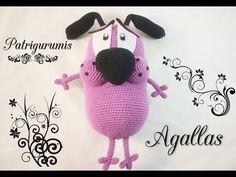 No os perdáis los últimos patrones de nuestra tienda etsy: https://www.etsy.com/es/shop/Patrigurumis Os traigo un patrón de Agallas el perro cobarde amigurum...