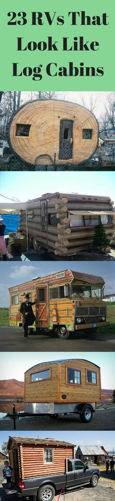 1000 images about log cabin rvs on pinterest log cabins for Rv log cabins