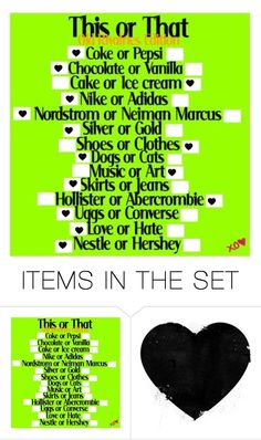 """""""This or that"""" by glitterprincess101 ❤ liked on Polyvore featuring art"""