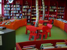 Vollmose bibliotek, barneavdelingen