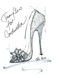 Jimmy Choo Cinderella's glass slipper | InStyle Magazine