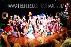 A fan photo from Night 1 of the 6th Annual Hawaii Burlesque Festival - Overboard: A Naughty Nautical Adventure Across the Pacific! Mahalo to our incredible cast and crew and our amazing energetic audience for supporting this year's festival!  Thank you for helping us bring the best in burlesque to our little island hideaway year after year!  To the #dorisduketheater and @honolulumuseum thank you for giving the festival. A beautiful home! Mahalo to your hard working staff who helps our event…