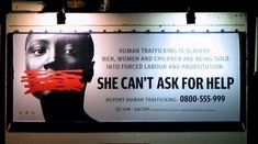 Website dedicated to stopping human trafficking