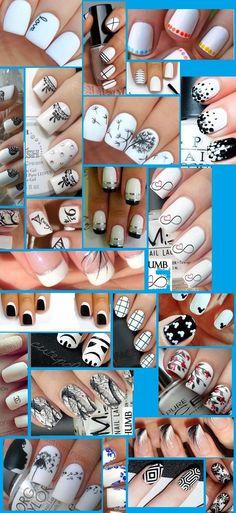 25 White nail art hacks..Well it's simply STUNNING!! | PinToxic
